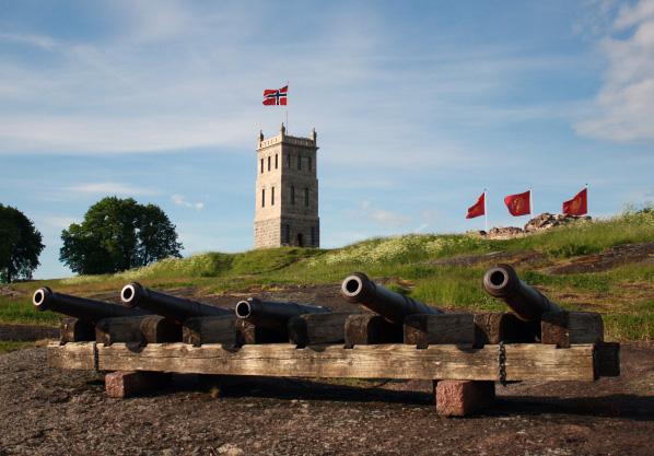 Vi hadde sommermøte i Tønsberg 13. juni